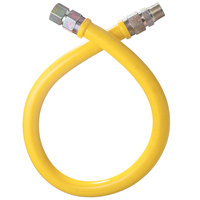 Dormont 16100NPFS24 Stationary Gas Connector Hose - 24 inch x 1 inch