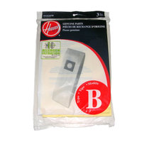 Hoover 4010103B Type B Allergen Vacuum Bags for Upright Vacuums - 3 / Pack