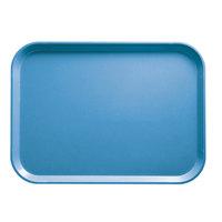 Cambro 1418CW168 14 inch x 18 inch Blue Camwear Tray - 12/Case