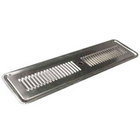 True 873115 24 1/8 inch x 6 3/4 inch Replacement Spill Grate Assembly for TDD Series Beer Dispensers