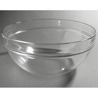 Cardinal Arcoroc 09994 Stackable 4.5 qt. Glass Ingredient Bowl