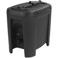 Carlisle XB303 Black 3 Gallon Slide N' Seal Insulated Beverage Dispenser