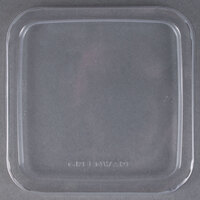 Fabri-Kal Greenware LGS6 Clear PLA Plastic Compostable Lid - 300 / Case