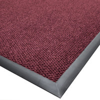 Cactus Mat 1410M-W46 Ultra-Berber 4' x 6' Burgundy Anti-Fatigue Carpet Mat - 1/2 inch Thick