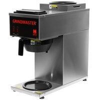 Grindmaster CPO-2P-15A Portable Pourover Coffee Brewer with 1 Top and 1 Bottom Warmer