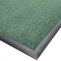 Cactus Mat 1410M-G46 Ultra-Berber 4' x 6' Sea Green Anti-Fatigue Carpet Mat - 1/2 inch Thick