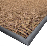 Cactus Mat 1410M-N46 Ultra-Berber 4' x 6' Natural Anti-Fatigue Carpet Mat - 1/2 inch Thick