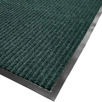 Cactus Mat 1485M-G46 4' x 6' Green Needle Rib Carpet Mat - 3/8 inch Thick
