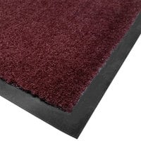 Cactus Mat 1438M-R23 Tuf Plush 2' x 3' Olefin Carpet Entrance Floor Mat - Burgundy