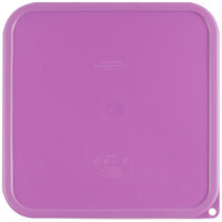 Cambro SFC12SCPP441 CamSquare Purple Lid for 12, 18, and 22 Qt. Food Storage Containers