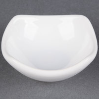 American Metalcraft SQSC30 Squound 3 oz. White Ceramic Sauce Cup