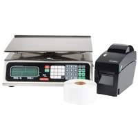 Tor Rey Price PC-80L 80 lb. Price Computing Scale with Printer Kit, Legal for Trade