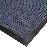 Cactus Mat 1425M-U23 Water Well I 2' x 3' Classic Carpet Mat - Blue