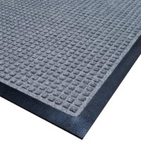 Cactus Mat 1425M-E41 Water Well I 4' x 10' Classic Carpet Mat - Gray