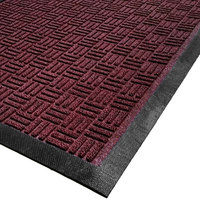Cactus Mat 1426M-R23 Water Well II 2' x 3' Parquet Carpet Mat - Burgundy