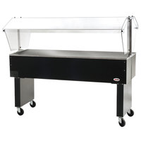 Eagle Group BPST-4 63 1/2 inch Deluxe Service Mates Solid Top Buffet Table with Open Base