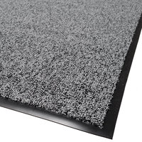 Cactus Mat 1465R-L3 Twist-Loop 3' x 60' Scraper Mat Floor Roll - Charcoal