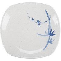 Blue Bamboo 6 inch x 5 1/2 inch Oblong Melamine Platter - 12/Pack