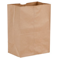 Duro 1/8 Brown Paper Barrel Sack - 500/Bundle