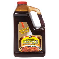 Kikkoman Teriyaki Baste and Glaze with Honey and Pineapple - (6) 5 lb. Containers / Case