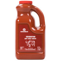 Kikkoman Sriracha Hot Chili Sauce - (6) 5 lb. Containers / Case