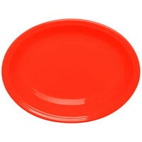 Homer Laughlin 458338 Fiesta Poppy 13 5/8 inch Platter - 12/Case