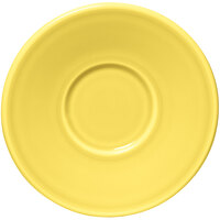 Homer Laughlin 293320 Fiesta Sunflower 6 3/4 inch Jumbo Saucer - 12/Case