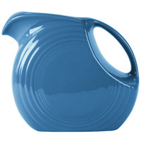 Homer Laughlin 484337 Fiesta Lapis 2.1 Qt. Large Disc Pitcher - 2 / Case