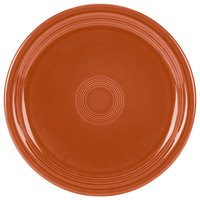 Homer Laughlin 749334 Fiesta Paprika 9 inch Round Healthcare Plate - 12/Case