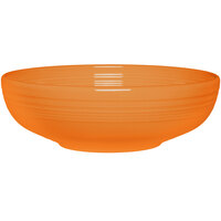 Homer Laughlin 1459325 Fiesta Tangerine 68 oz. Large Bistro Bowl - 4 / Case