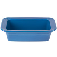 Homer Laughlin 813337 Fiesta Lapis 5 3/4 inch x 10 7/8 inch x 3 inch Loaf Pan - 3/Case
