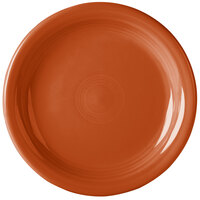 Homer Laughlin 1461334 Fiesta Paprika 6 3/4 inch Round Appetizer Plate - 12/Case