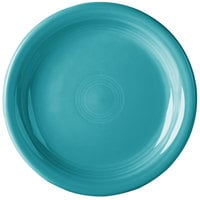 Homer Laughlin 1461107 Fiesta Turquoise 6 3/4 inch Round Appetizer Plate - 12/Case