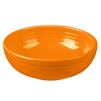 Homer Laughlin 1458325 Fiesta Tangerine 38 oz. Medium Bistro Bowl - 6/Case