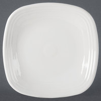 Homer Laughlin 919100 Fiesta White 10 3/4 inch Square Dinner Plate - 12 / Case