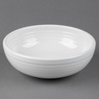 Homer Laughlin 1458100 Fiesta White 38 oz. Medium Bistro Bowl - 6/Case