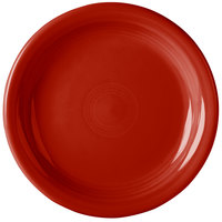 Homer Laughlin 1461326 Fiesta Scarlet 6 5/8 inch Round Appetizer Plate - 12/Case