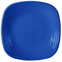 Homer Laughlin 919337 Fiesta Lapis 10 3/4 inch Square Dinner Plate - 12 / Case