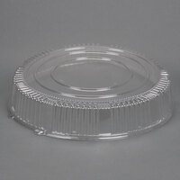 WNA Comet A12PETDM Checkmate 12 inch Clear Dome Lid - 5/Pack