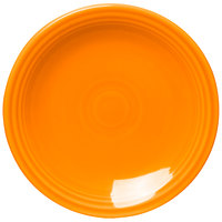 Homer Laughlin 463325 Fiesta Tangerine 6 1/8 inch Round Bread and Butter Plate - 12/Case