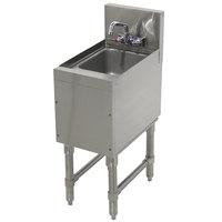 Advance Tabco PRHS-19-12 Prestige Series Stainless Steel Underbar Hand Sink - 20 inch x 12 inch