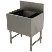 Advance Tabco PRI-19-36 Prestige Series Stainless Steel Underbar Ice Bin - 20 inch x 36 inch