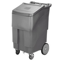 Continental 9720GY Con-Serv 200 lb. Gray Mobile Ice Bin