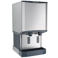Scotsman HID540A-1A Meridian Countertop Air Cooled Ice Machine and Water Dispenser - 40 lb. Bin Storage