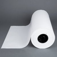 18 inch x 1000' Wet Wax Paper Roll