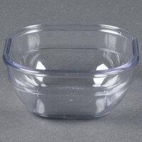 Dinex DXSQD1007 10 oz. Clear Square Bowl - 48/Case