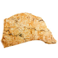 Elite Global Solutions QS1913 Rocky Mountain High Rust Granite 19 inch x 13 inch Irregular Shape Display Stone Platter