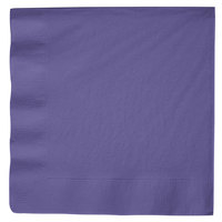 Creative Converting 59115B Purple 3-Ply Paper Dinner Napkin - 250/Case