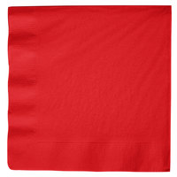 Creative Converting 591031B Classic Red 3-Ply Paper Dinner Napkin - 250 / Case
