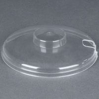 Carlisle CM103307 Clear Cold Crock Cover, Slotted